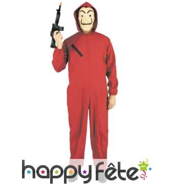 Costume Casa de Papel pour adulte
