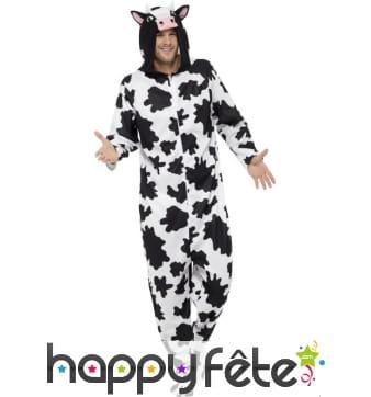 Costume combinaison de vache