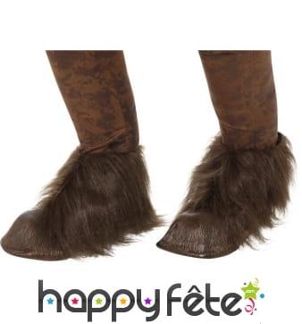 Couvres chaussures de Krampus le démon