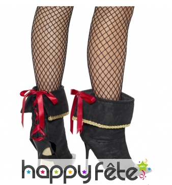 Couvres chaussures de piratesse