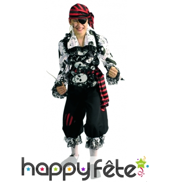 Costume capitaine enfant pirate