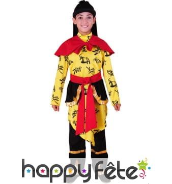 Costume chinois garçon