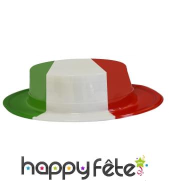 Canotier couleur italie