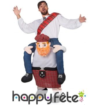 Costume Carry Me Écossais pour adulte