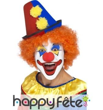 Chapeau clown pointu