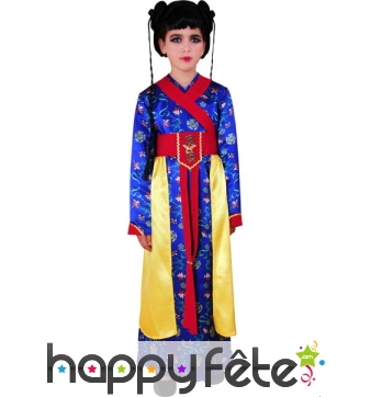 Costume chinoise pour fille