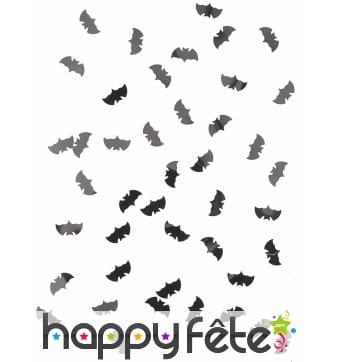 Confettis chauve souris pour table d'halloween