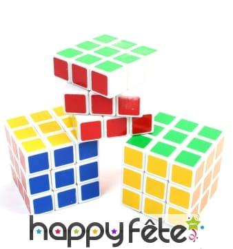 Cube casse-tête style rubik cube, 3cm3
