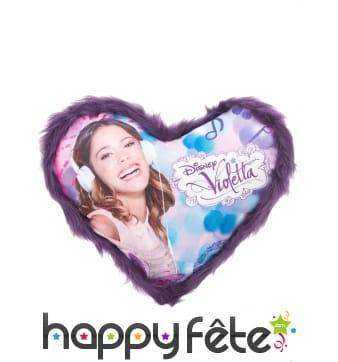 Coussin coeur Violetta de 36 x 32cm