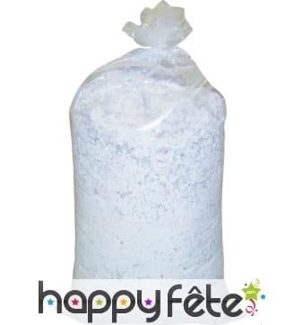 Confettis de 10kg blancs fluos