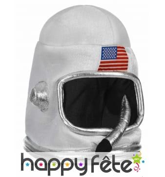 Casque d'astronaute Américain pour enfant