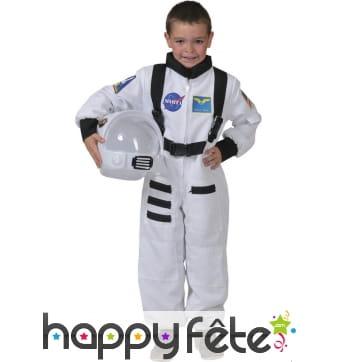 Combinaison d'astronaute Américain pour enfant