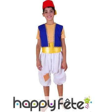 Costume d'Aladin enfant