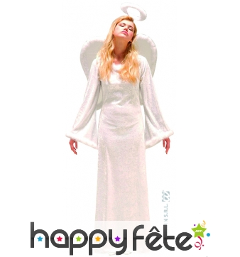 Costume d'ange longue robe