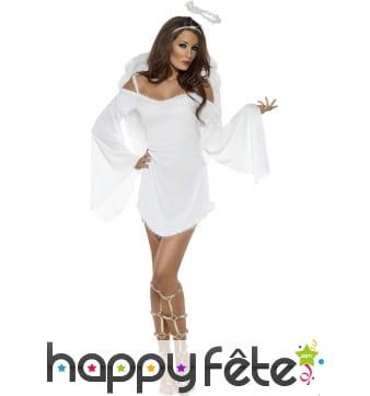 Costume d'ange sexy pour femme
