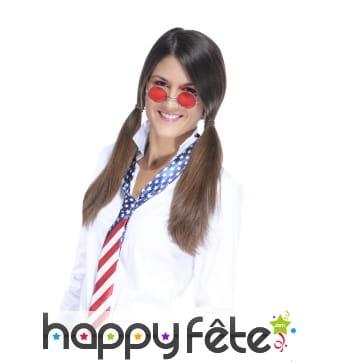 Cravate drapeau américain