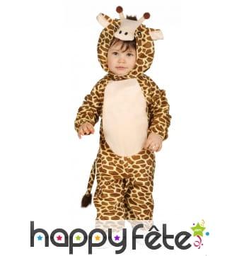 Combinaison de bébé girafe