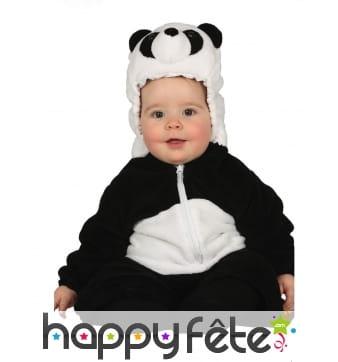 Combinaison de bébé panda