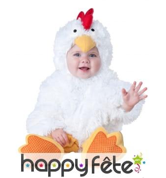Combinaison de bébé poulet, Luxe
