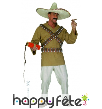 Costume de bandit mexicain