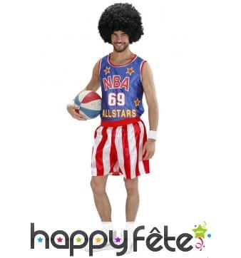 Costume de basketteur NBA