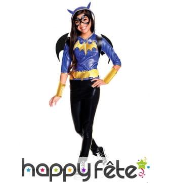 Costume de Batgirl pour fille, luxe