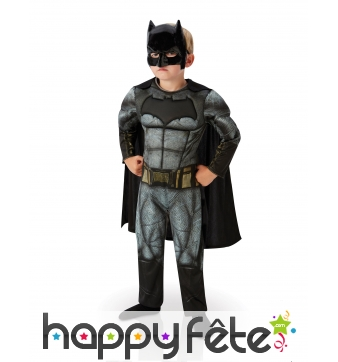 Costume de Batman Dawn of Justice enfant, luxe