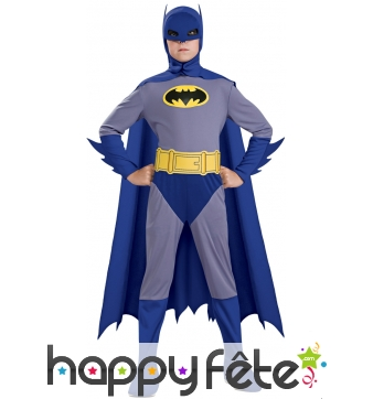 Costume de Batman old school pour enfant