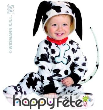 Costume de bébé dalmatien