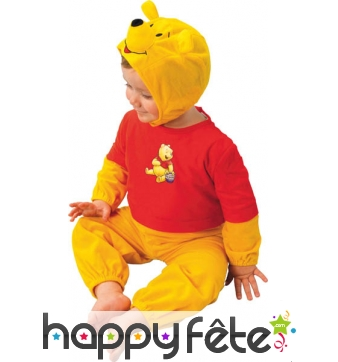 Costume de bébé Winnie L'Ourson Licence Disney