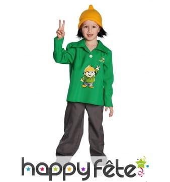 Costume de Berti pour enfant, Mainzelmännchen