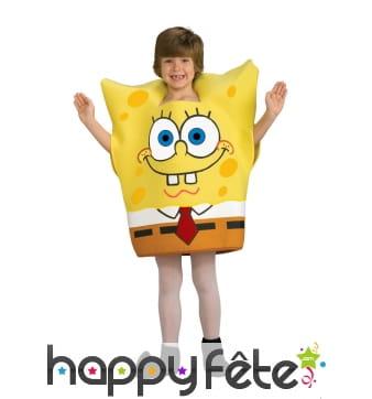 Costume de Bob l'éponge pour enfant