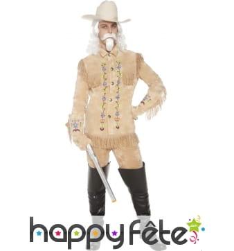 Costume de Buffalo Bill du western