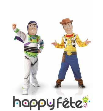 Costumes de Buzz et Woody pour enfants