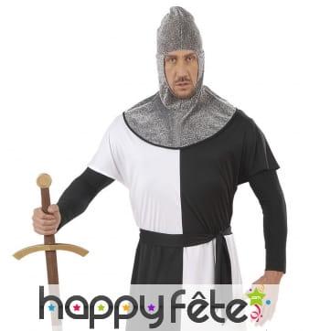 Cagoule de chevalier médiéval