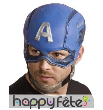 Casque du Captain America taille adulte