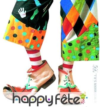 Chaussures de clown pour enfant
