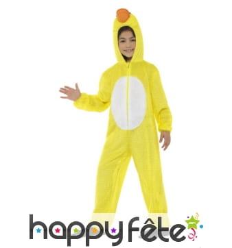 Combinaison de canard jaune pour enfant