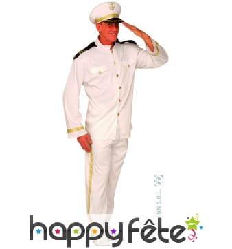 Costume de capitaine de la marine