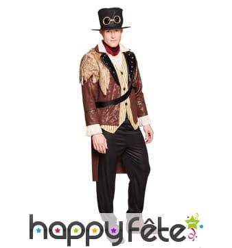 Costume de capitaine Steampunk pour adulte