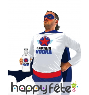 Costume de Captain Vodka