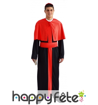 Costume de cardinal noir