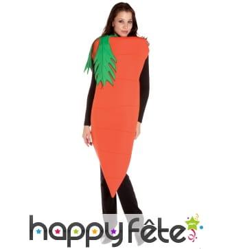 Costume de carotte pour femme