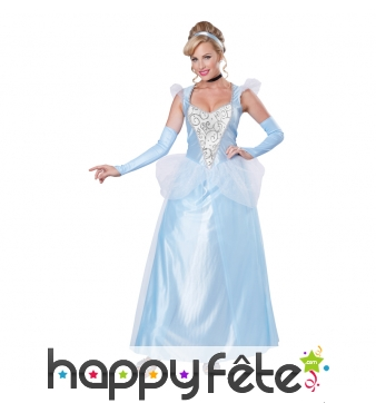 Costume de cendrillon pour adulte