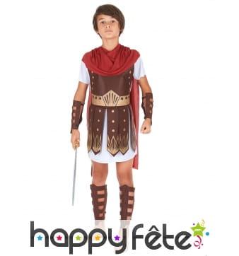 Costume de centurion pour petit garçon