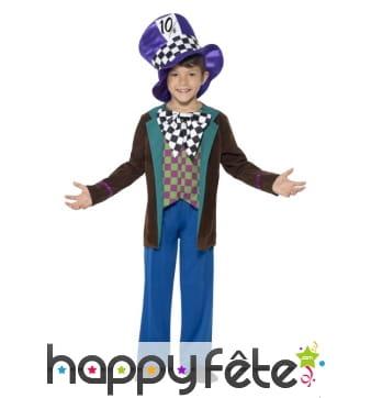 Costume de chapelier pour enfant garçon
