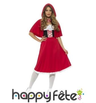 Costume de chaperon rouge pour femme adulte