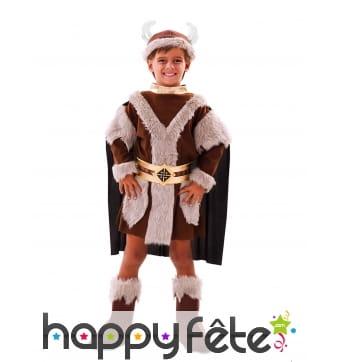 Costume de chef viking pour garçon