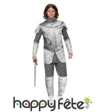 Costume de chevalier médiéval imprimé