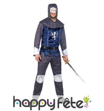 Costume de chevalier médiéval pour homme adulte